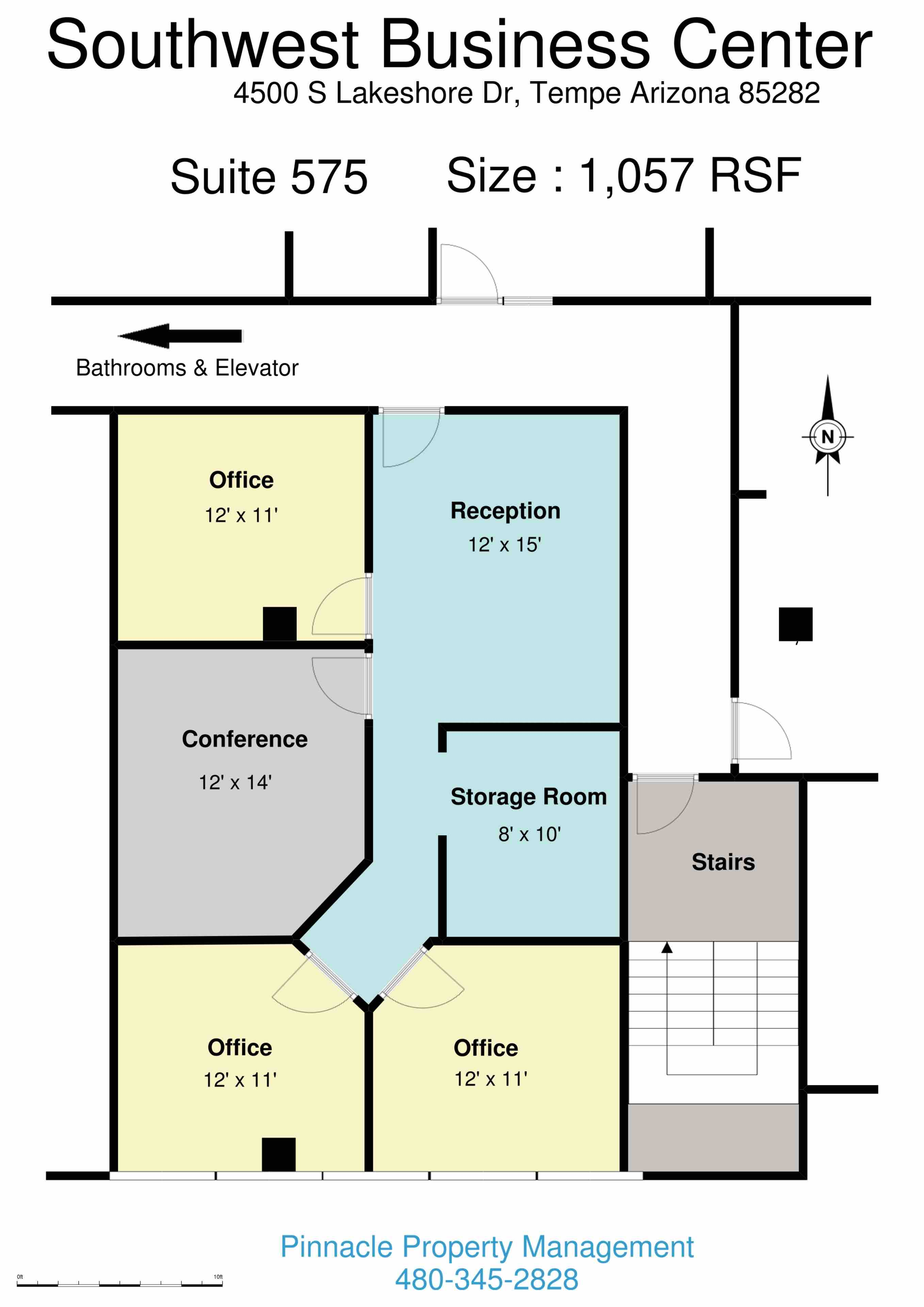 Leasing Commercial & Executive Office Space in Tempe Arizona